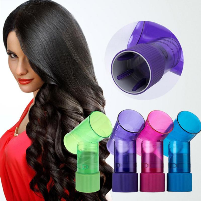 Portable Hair Dryer Diffuser Wind Spin Curl Hair Roller Curler Maker Professional Salon Hairdressing Styling Beauty Tools