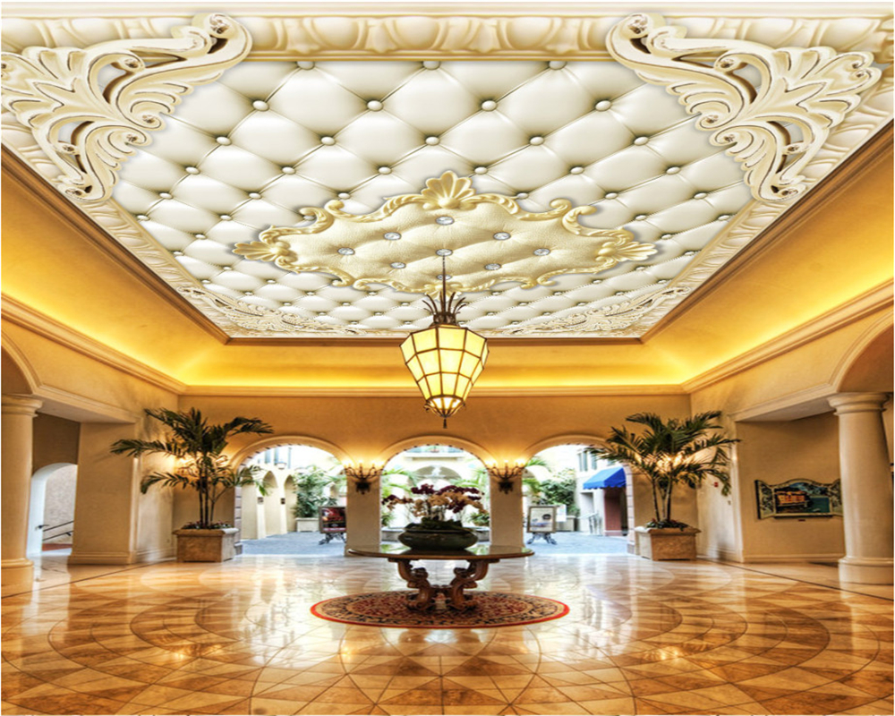 Beibehang Custom ceiling mural ceiling European wallpaper living room hotel ceiling photo 3d wallpaper tapeta do pokoju korg pa500 m50 tp 356751 touch pad touch pad