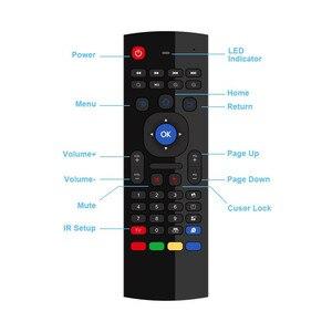 Image 5 - FGHGF MX3 2.4G 무선 키보드 컨트롤러 원격 제어 에어 마우스 스마트 안 드 로이드 7.1 TV 상자 x96 미니 s905w tx3 tvbox