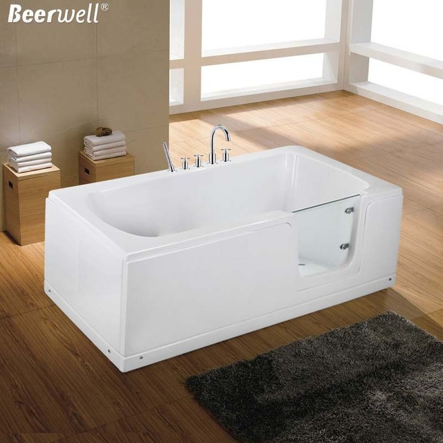 2015 New Walk In Bath Bathtub Acrylic elderly people with ...