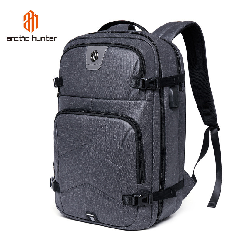 ARCTIC HUNTER Multifunction 17 Inch Laptop Backpack for Men Women USB Charging & Headphone Port Business Travel Backpacks Bag все цены
