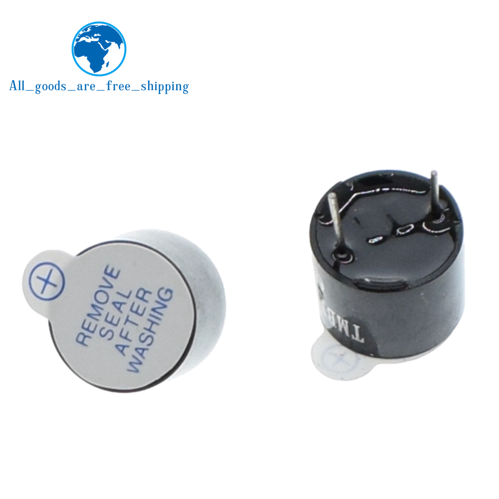 5v Active Buzzer Magnetic Long Continous Beep Tone 12*9.5mm