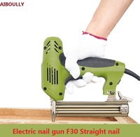 BRAD NAILER & STAPLER Nail Gun Nailer Tools Framing Eletric nails Electric Power Tools F30~F10 Electric Carpentry Household