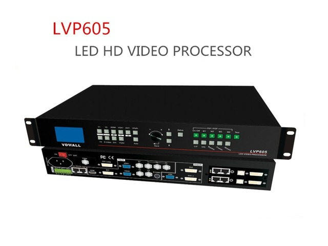 Vdwall LVP605 processador de vídeo LED HD profissional