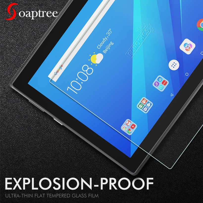 Tempered Glass For Lenovo Tab 4 10 Plus Tab 4 8 Plus Tab3 7 710F 8 Plus Tab 2 A10-70 M10 TB-X605 Tablet Screen Protective Film