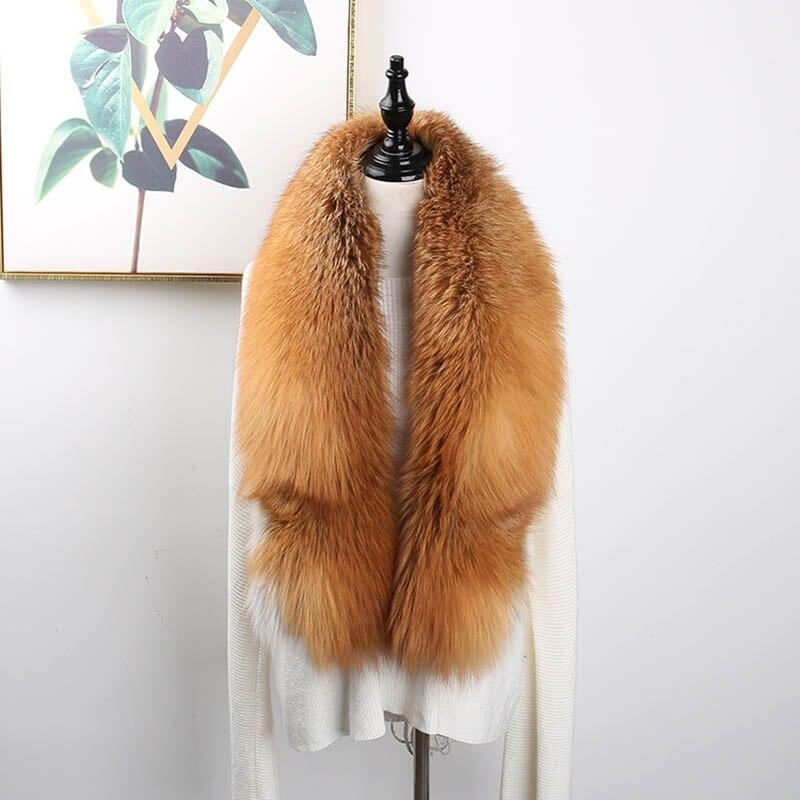 fox skin scarf big fox fur scarf (19)