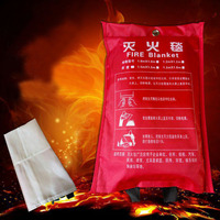 1.5MX1.5M Glass Fiber Home Fire Blanket Emergency Survival Fire Escape Tent Safety Fire Extinguisher Tent DFT001