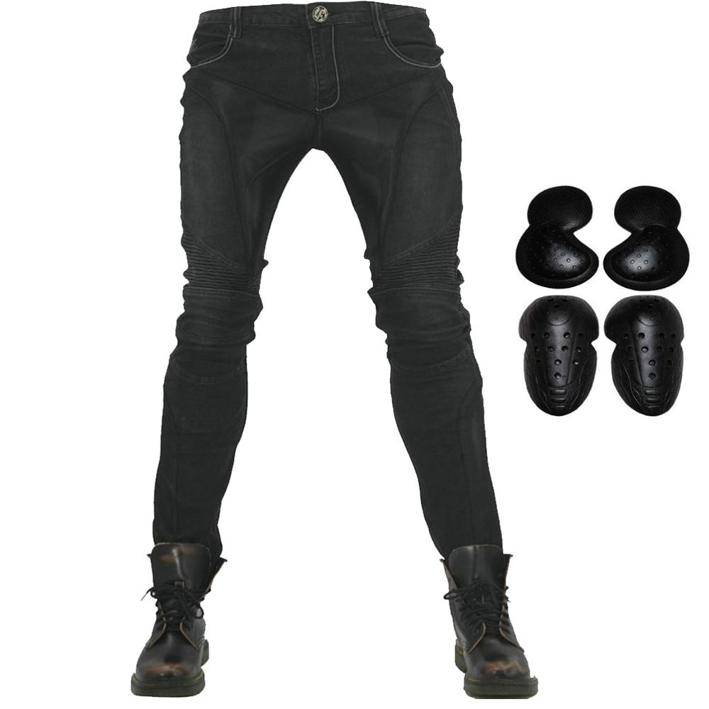Summer Motorcycle Riding Pants Men Moto Jeans Pantalons With 4 X Upgarde Armor Knee Hip Protector Pads Motocross Racing TrousersSummer Motorcycle Riding Pants Men Moto Jeans Pantalons With 4 X Upgarde Armor Knee Hip Protector Pads Motocross Racing Trousers