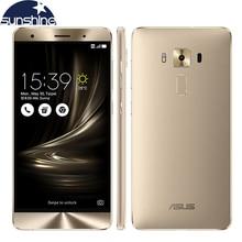 Original Asus Zenfone 3 Deluxe ZS550KL 4G LTE Mobile Phone 5.5'' 16.0MP Octa Core 4G RAM 64G ROM Fingerprint Smartphone