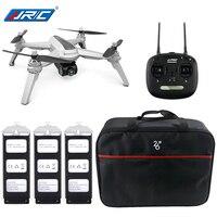 JJRC JJPRO X5 5 г Wi Fi FPV системы RC Дрон GPS позиционирование бесщеточный вертолеты 1080 P камера точка интересные следовать 3 батареи