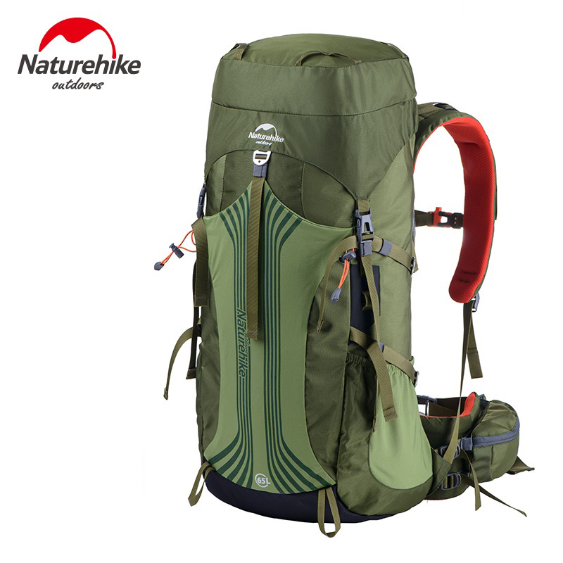 NatureHike 55L/65L Backpack Hiking Backpacking Packs for Outdoor Hiking Travel Climbing Camping Mountaineering with Rain Cover professional camping gear 2 people outdoor 4 reason camping tent hiking climbing backpacking mountaineering tourism ultralight