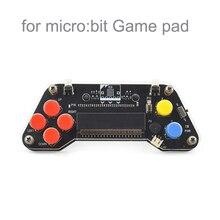 ل مايكرو: بت Microbit غمبد لوح تمديد مقبض المقود ل سيارة روبوت ، للأطفال البرمجة التعليم MB0013