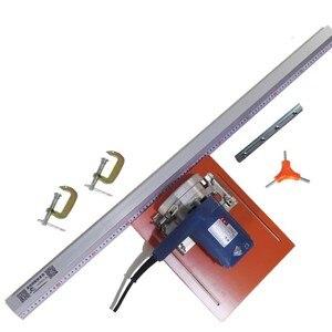 Image 5 - Máquina de corte circular elétrica, 45 graus chamfer fixação guia pé régua ferramentas de marcenaria