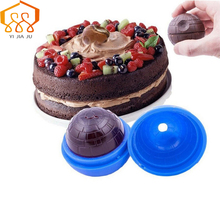 Baking Tools Silicone Chocolate Mould Star Wars Round Ice Hockey Blue Spherical Cake Mold Kitchen And Party Bar Supplies