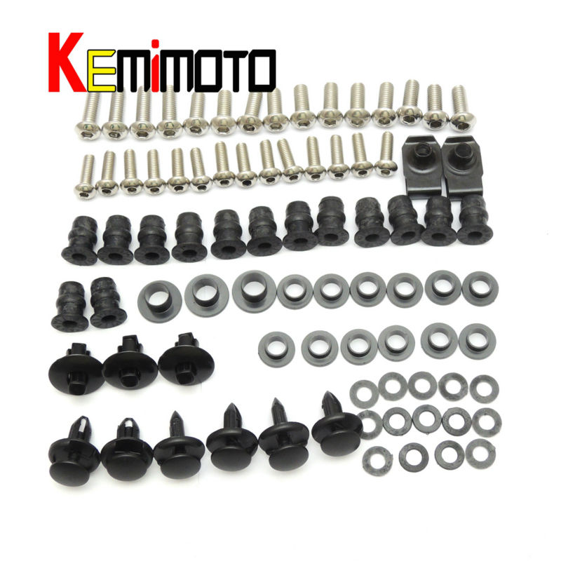 For Honda 2000-2006 RC51 Motorcycle Fairing Bolt Screw Fastener Nut Washer for Honda RC51 2000 2001 2002 2003 2004 2005 2006 (15)