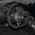 Car- Styling New Anti Slip Swede Leather Steering Wheel Stitch on Wrap Cover For Audi TT