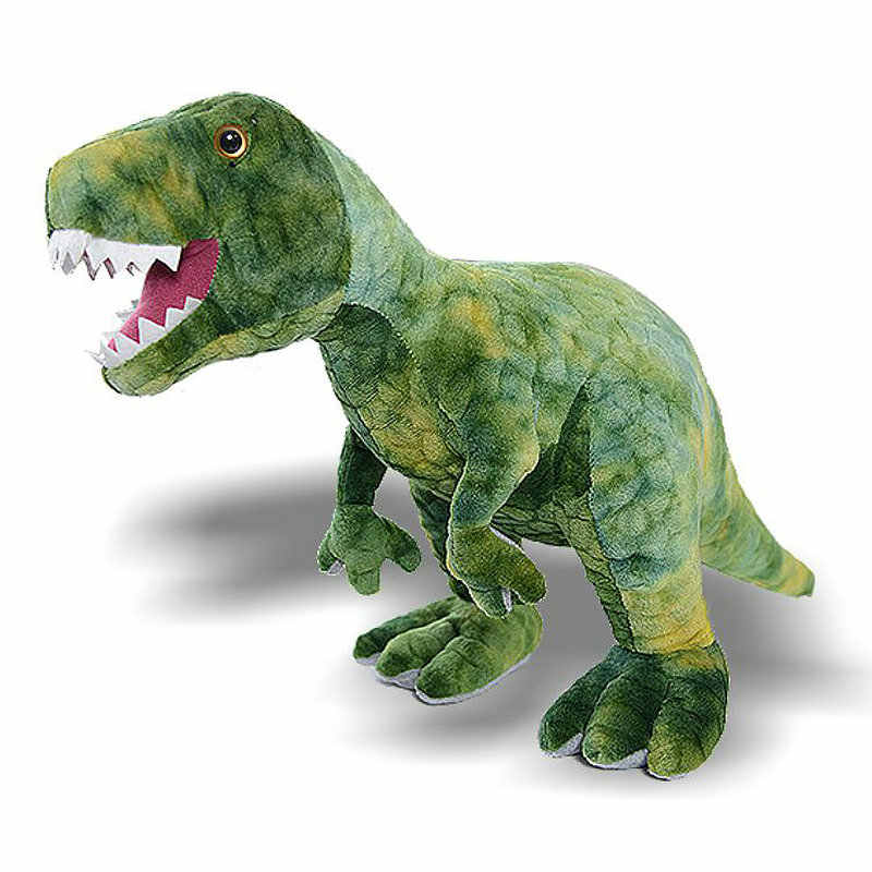 Aurora Monkey Stuffed Animal, 1 1m Plush Jurassic Dinosaur Toy Simulation Trex Doll Big Animal Stuffed Toy Kids Toys Birthday Gift For Boy High Quality T Rex Stuffed Plush Animals Aliexpress