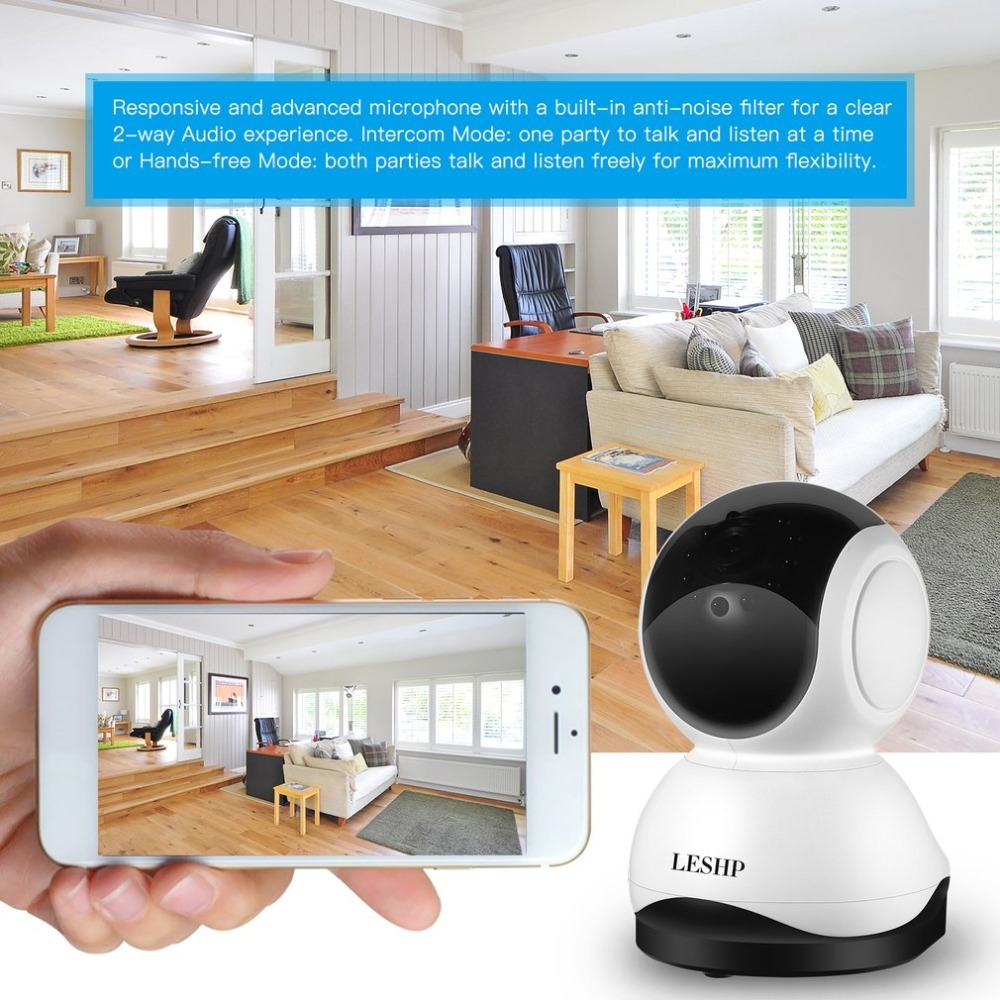 720P 1280*720 1MP Wireless WiFi HD IP Camera HD Pan/Tilt/Zoom Surveillance IP Camera Wifi for Home Security цена