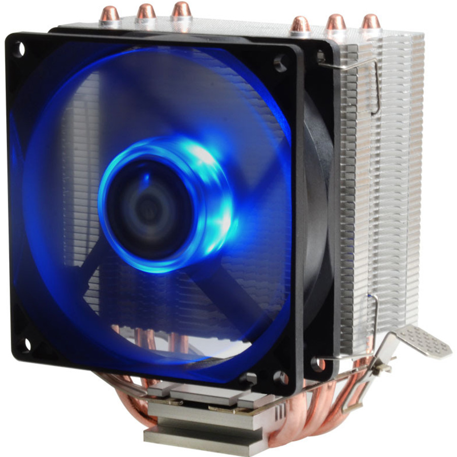 Compute Fan CPU Cooling Fan BlueLed Light Freezer Water Liquid Cooling System CPU Cooler Fluid Dynamic Bearing For Computer compute fan cpu cooling fan blueled light freezer water liquid cooling system cpu cooler fluid dynamic bearing for computer