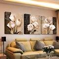 3 peça arte hd impressão bilder barato moderno para sala de estar parede quadros em tela cuadros decoracion flores modular tríptico