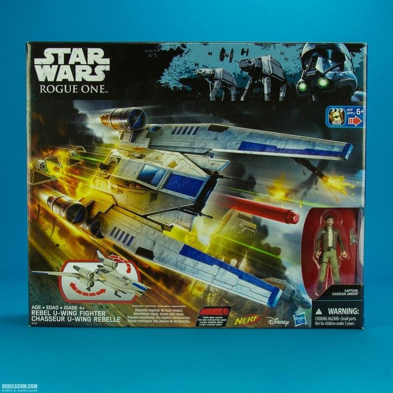 3.75 ''Star wars figurine d'action u-wing combattant Joint mobile Collection modèle jouets anniversaire présent édition limitée