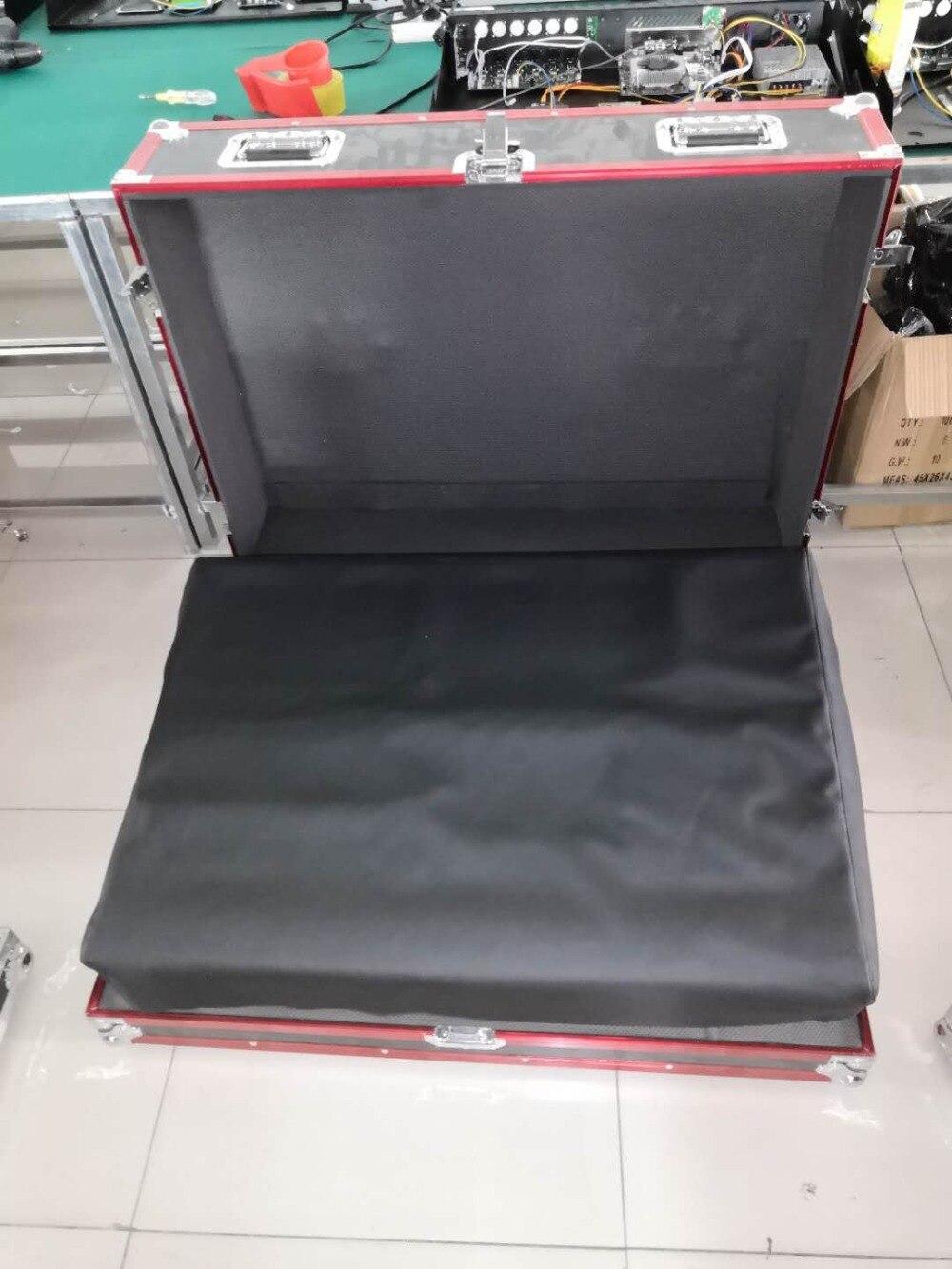 Controlador profesional de iluminación de escenario ma2 dmx de China con caja de vuelo 3 uds pantalla táctil de 15,4 pulgadas para equipos de dj