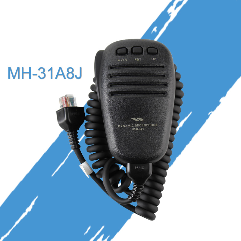 Suitable For YAESU Yaesu MH-31A8J Handheld Microphone FT-817ND 857D FT-891 Hand Microphone
