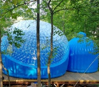 Sightseeing and Camping Tent Welding Bubble Dome Tent Igloo Shaped Air Sealing Tent For Outdoor