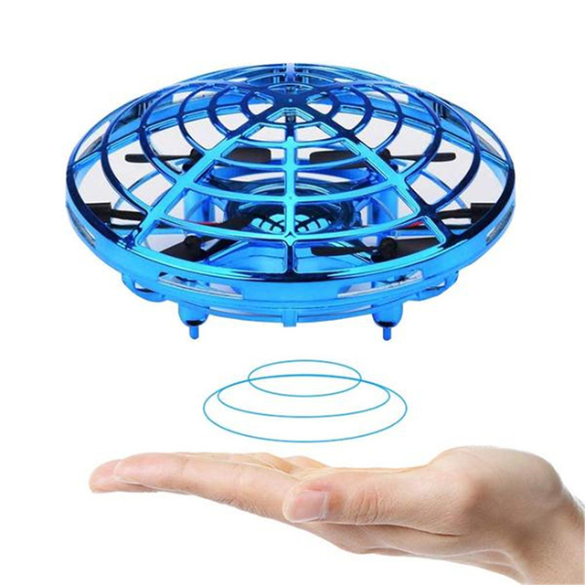 Mini Helicopter UFO RC Drone Infraed Hand Sensing Aircraft Electronic Model Quadcopter flayaball Small drone Toys For Children