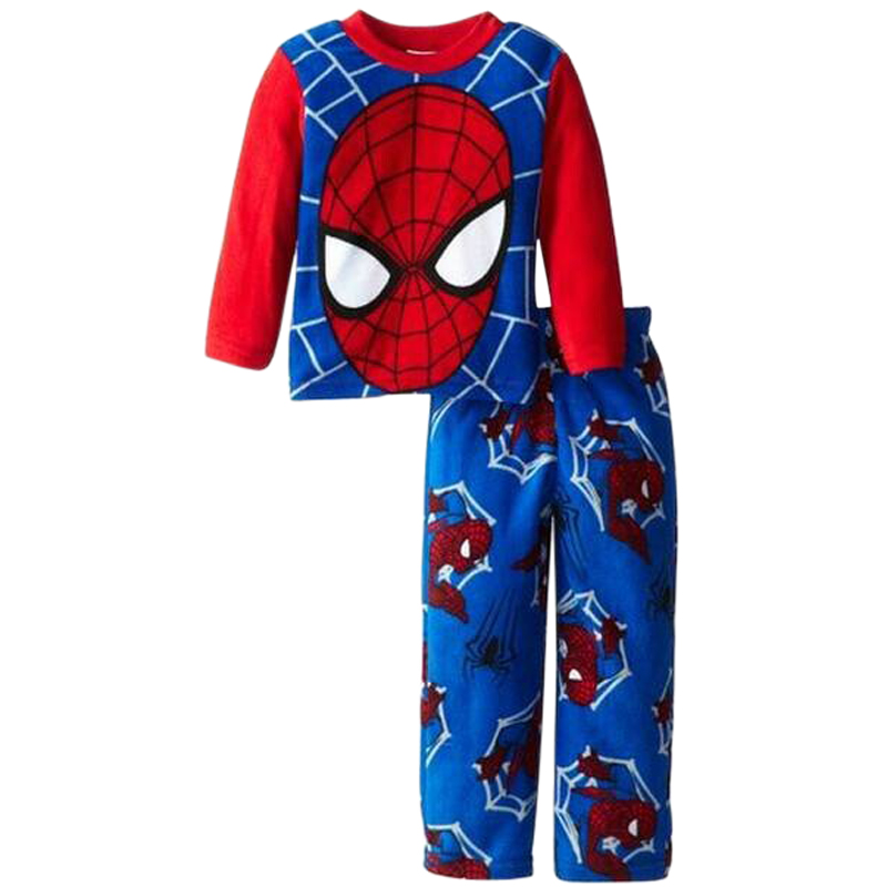 Cartoon Spiderman Boys   Pajamas   Children Clothing   Sets   Boys Clothes Baby   Pajamas   Long Sleeve Kids Tracksuit Autumn Winter
