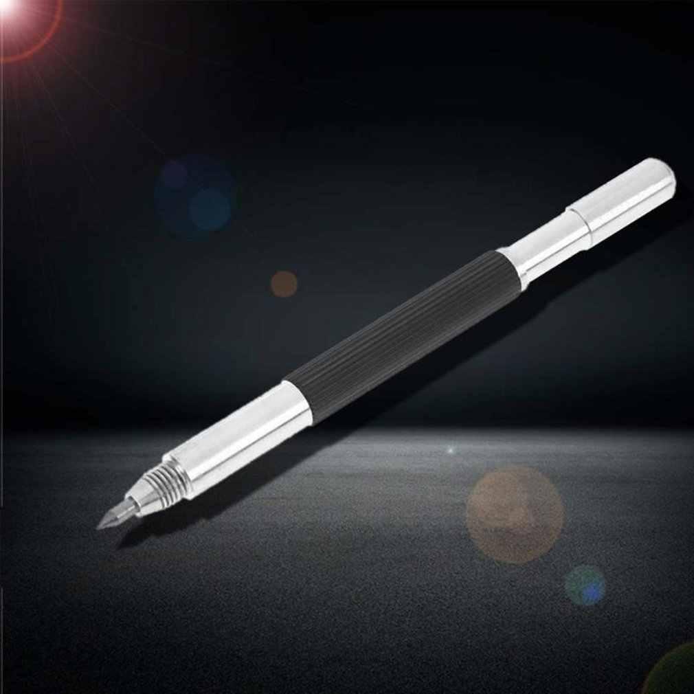 Berlian Logam Menandai Engraving Pen Wolfram Karbida Tip Scriber Pena untuk Kaca Keramik Logam Ukiran Kayu Tangan Alat