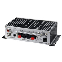 Car MP3 Hi Fi Stereo Audio Amplifier Home Auto Motocycle Bass Speaker Boostrer Player With USB