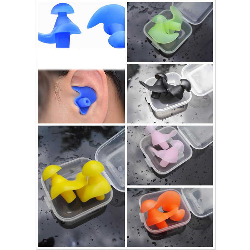Image 2 - Ear Plugs Silicone Ear Protection Earplugs For Sleeping Plug Anti Noise Protectors Noise Reduction Hearing Protection EZ00102-in Ear Protector from Security & Protection