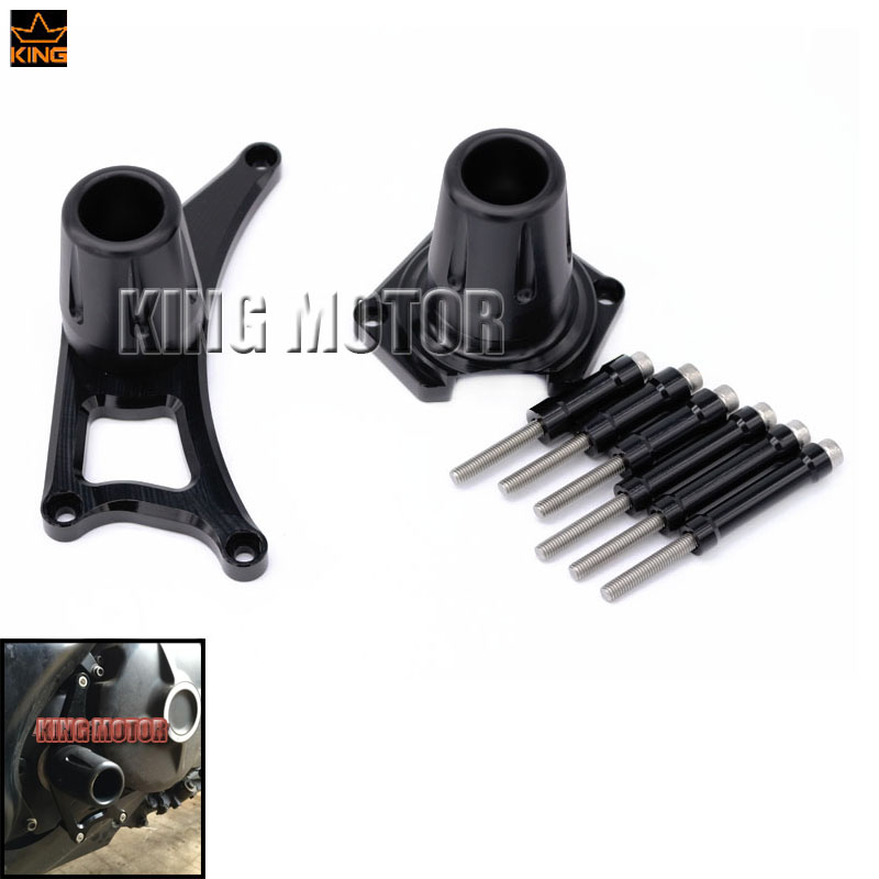 For YAMAHA MT 01 MT 01 2005 2011 font b Motorcycle b font Accessories Frame Sliders