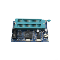 Free Shipping 51 Microcontroller Programmer Support AT89C52 24C02 93C46 300 Wide Range Of Silicon USB Burner