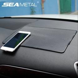 Car Gadget Anti Slip Mat Auto Interior Dashboard Phone Coin Gel Pads Fixed Gel Double Sided Car Non-slip Mat Car Stickers Gadget