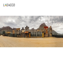 Laeacco Old House Mountains Nature Scenic Portrait Photography Backgrounds Customized Photographic Backdrops For Photo Studio