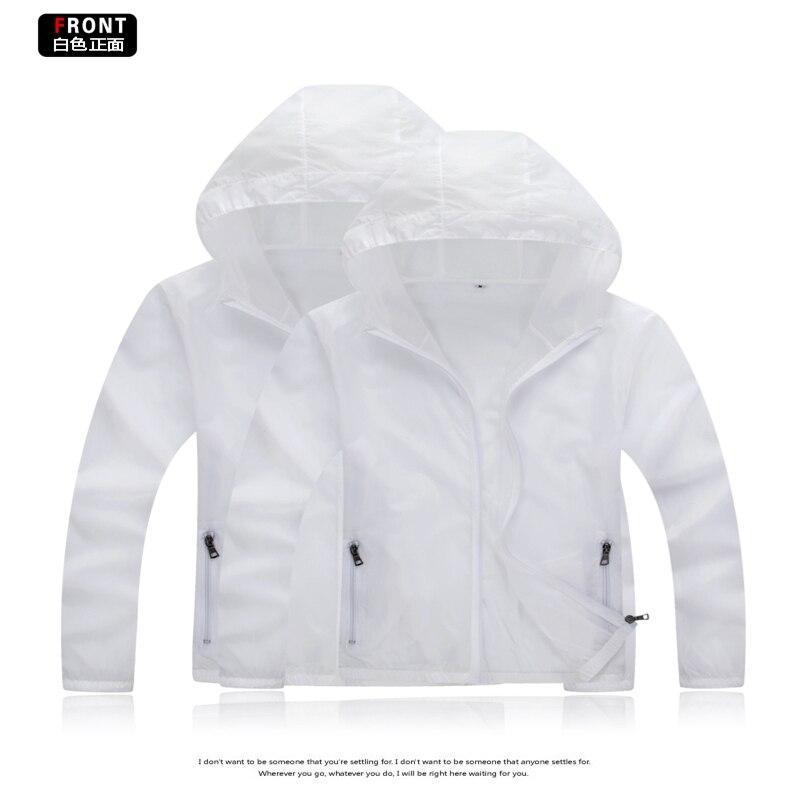 Brieuces 2019 Summer women Quick Dry Skin Sun Protection Clothing Couple Coat Fashion Windbreaker Waterproof Men Women Jacket