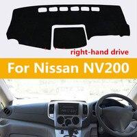 Polyster Fibre Right Hand Drive Car Dashboard Pad Instrument Desk Adiabatic Sun Resistant Avoid Light Mat