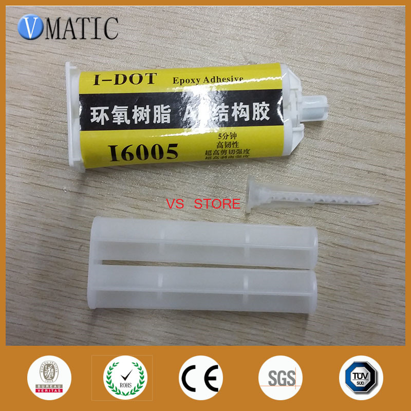 2016 epoxy AB glue,epoxy steel adhesive,quick AB adhesive with glue cartridge and pp push rod and static mixer цена