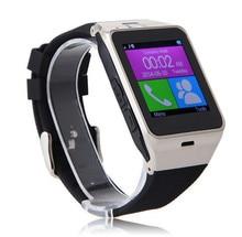 GV18 NFC Bluetooth Smart Uhr Android für iPhone für Samsung Armbanduhr Smartwatch mit Kamera SIM Einbauschlitz Tragbare Geräte