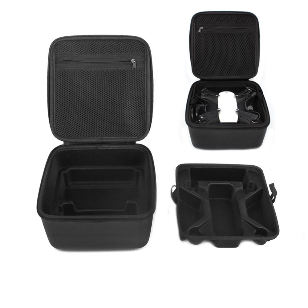 DJI Spark Drone Bag PU Double Deck Waterproof Portable Handbag Carrying Case for DJI Spark Drone Accessories Storage Suitcase