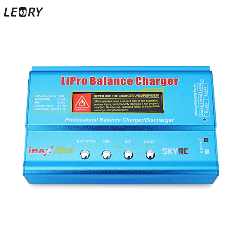 Hot Sale Original SkyRC IMAX B6 Digital RC AC Lipo Li-polymer Battery Balance Charger For Rc Parts Battery Parts 2013 hot sale orignal imax rc imaxrc intelligent balance multifunction battery lipo life li lon charger low s battery helikopter
