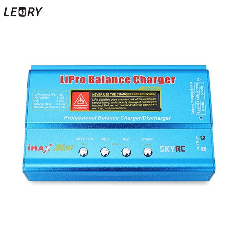 Venta caliente Original SkyRC IMAX B6 Digital RC AC Lipo Li-polímero batería Balance cargador para Rc piezas de la batería a
