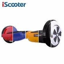 IScooter hoverboard UL2272 Bluetooth Электрический Скейтборд руль Смарт 2 колеса самостоятельная Баланс Стоя скутер hover доска