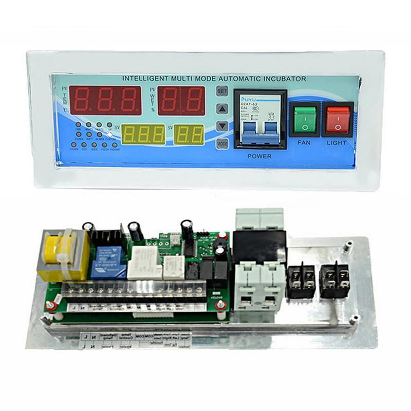 XM-18E Full Automatic Egg Incubator Controller Multifunction Controller Temperature Humidity Sensors Egg Hatcher ControllerXM-18E Full Automatic Egg Incubator Controller Multifunction Controller Temperature Humidity Sensors Egg Hatcher Controller