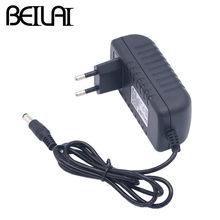 Адаптер питания BEILAI для светодиодной ленты, импульсный источник питания, трансформатор освещения, выход 12 В постоянного тока, 1 А, 2 А, 3 А