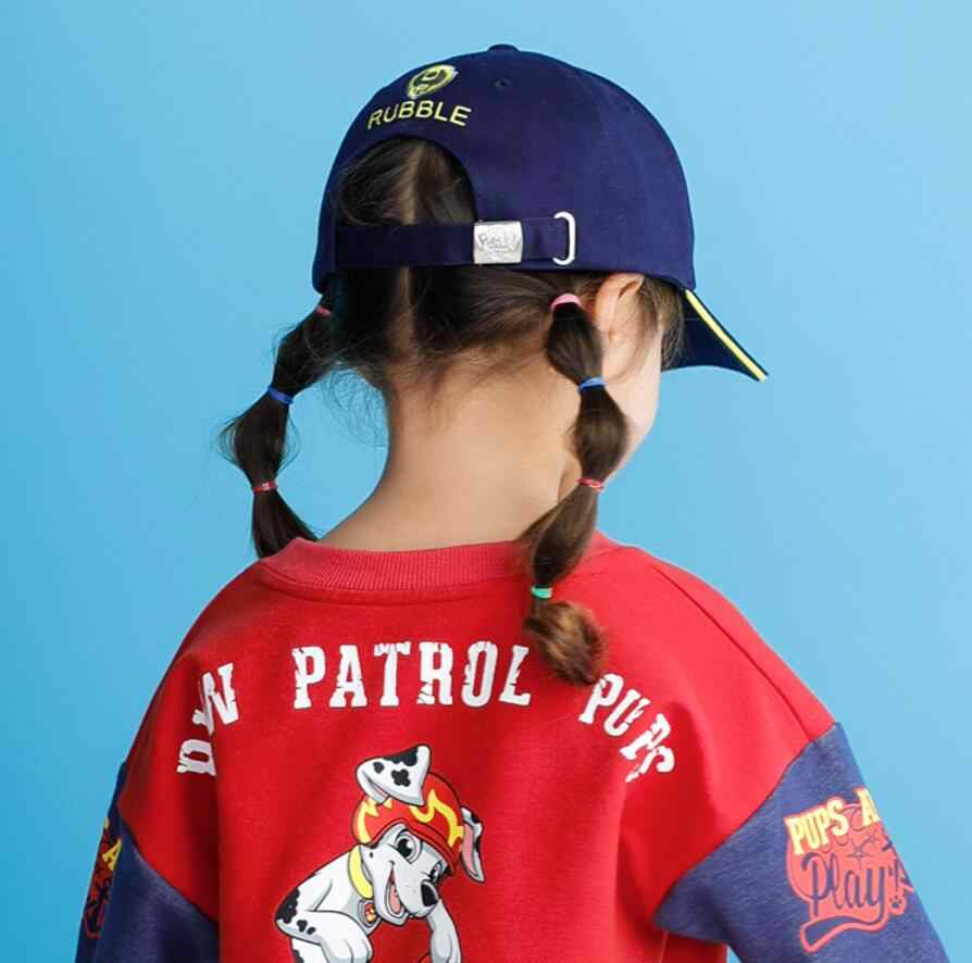 wholesale dealer cfd63 e7970 ... Genuine Paw Patrol Lovely Children Cartoon puppy patrol Baseball Caps  Baby Girls Embroidered Adjustable hats Kids ...