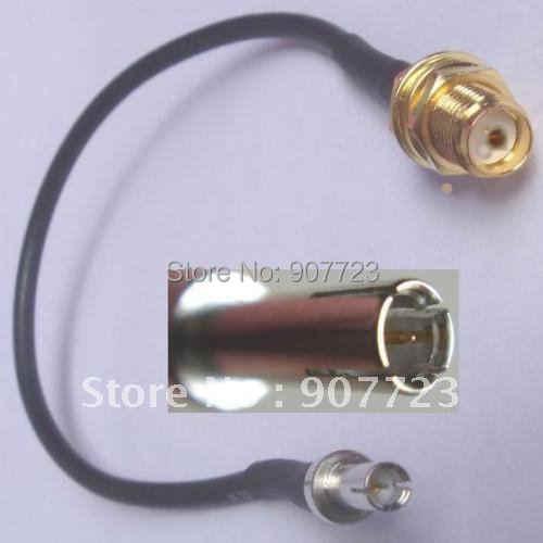 TS9 Erkek SMA Dişi Jack RG174 Kablosu Için 3G 4G ZTE Huawei Modem 18 cm