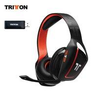 TRITTON ковчег 200 Беспроводной Bluetooth гарнитура с USB аудио адаптер и светодио дный огни совместимый для PS4, Xbox One